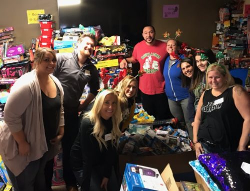 South University Wraps Gifts for Batch-Toys