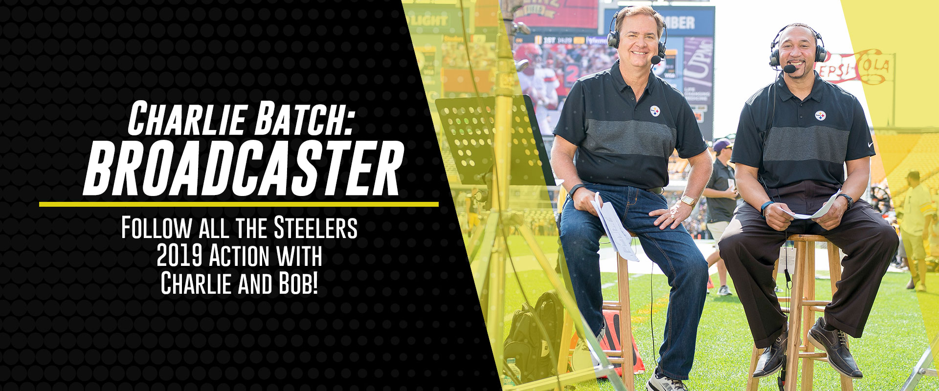 Charlie Batch Broadcaster Slider