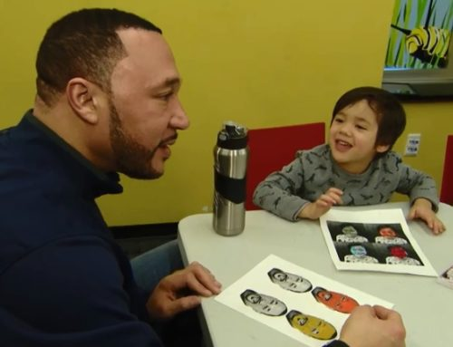 Charlie Batch and projectart on WQED-TV