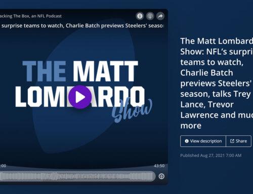 Charlie Visits the Matt Lombardo Show