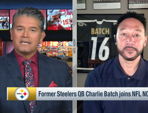 Charlie Batch Appears on NFL Now Live
